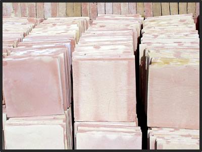 12x12 unsealed stair tread saltillo terra cotta floor tile for 12x12 mexican floor tile