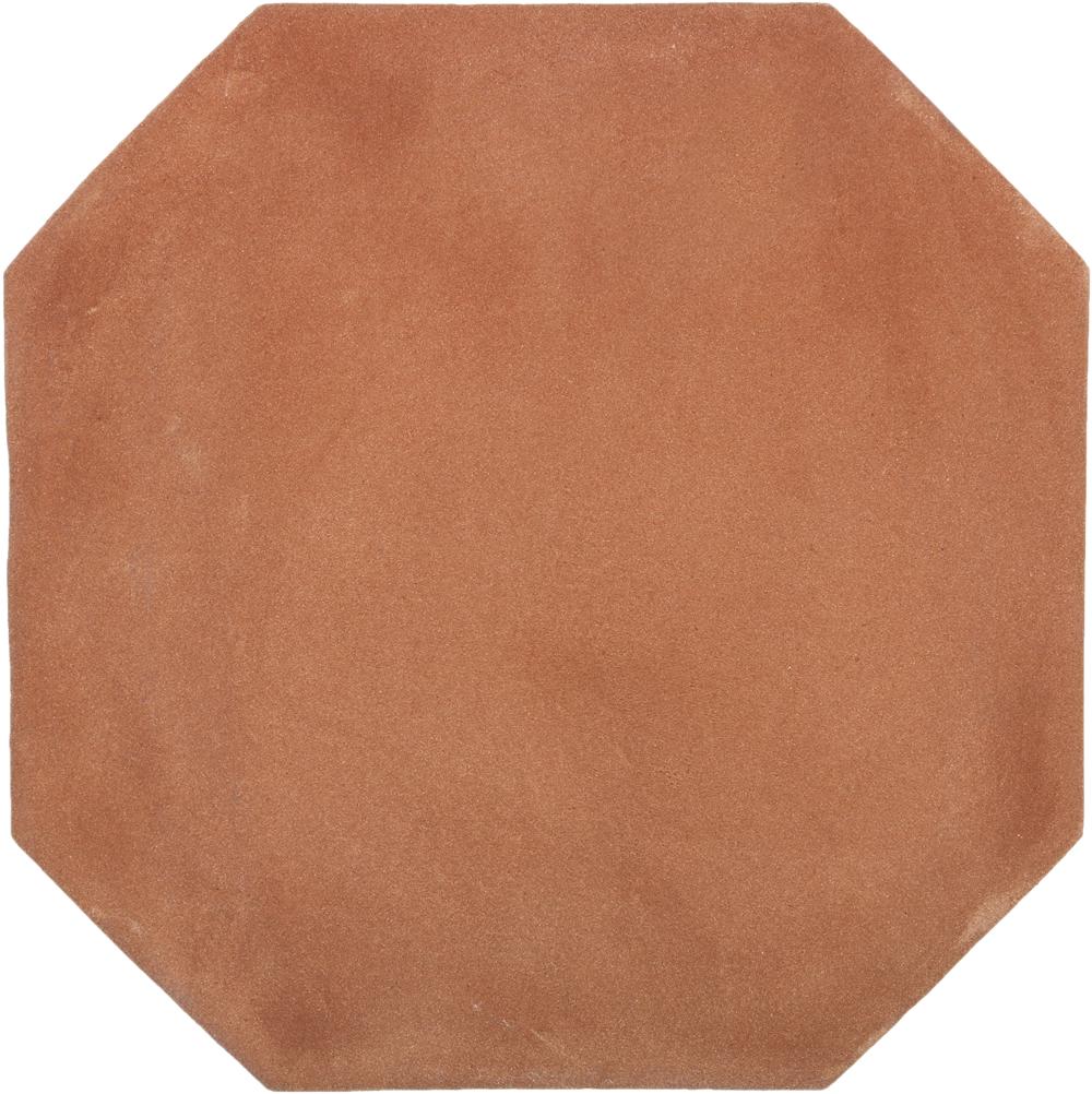 Octagonal Tierra High Fired Handcrafted Terra Cotta Floor Tile