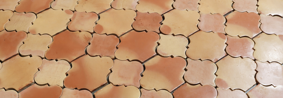 Saltillo Handcrafted Terracotta Floor Tile