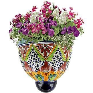 home-decor-hanpainted-ceramic-wall-planters
