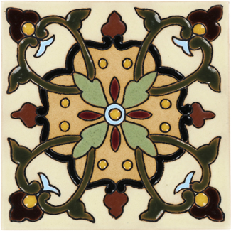 Santa Barbara Ceramic Tile Collection