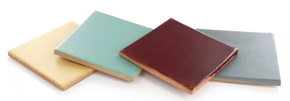 Solid Colors Malibu tiles from Santa Barbara Collection