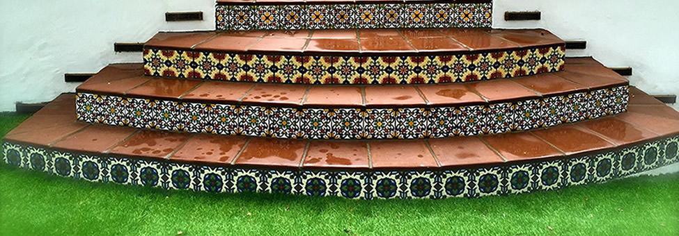 Malibu tiles from Santa Barbara Collection
