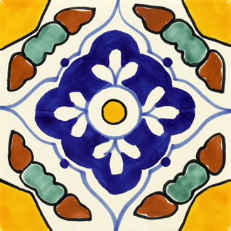 Talavera Ceramic Mexican Tile Collections
