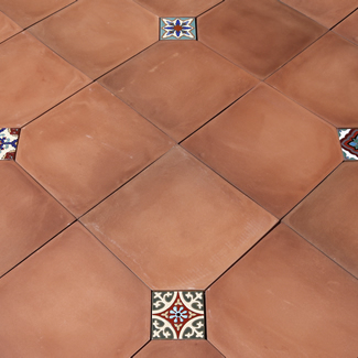 Handcrafted Terra Cotta, Ceramic, U0026 Cement Floor Tiles