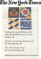 New York Times Mexican Tile