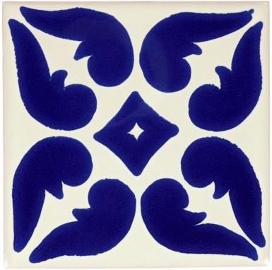 Blue Lyon Talavera Mexican Tile