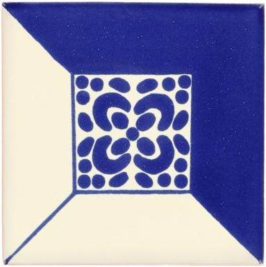 Blue Patzcuaro Talavera Mexican Tile