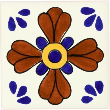 Blue Seville Talavera Mexican Tile