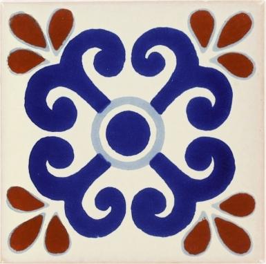 Zacatecas Talavera Mexican Tile