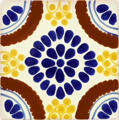 Blue Chapala Talavera Mexican Tile