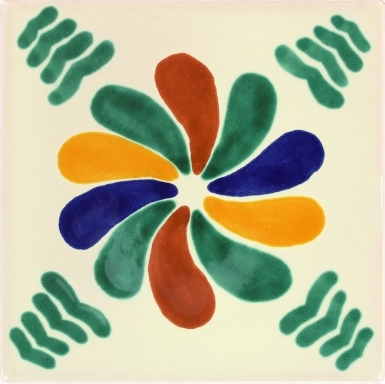 Rehilete Talavera Mexican Tile