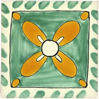 Mono Talavera Mexican Tile