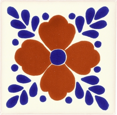 Hortensia Talavera Mexican Tile