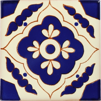 Toledo azul talavera mexican tile Cheap mexican tile