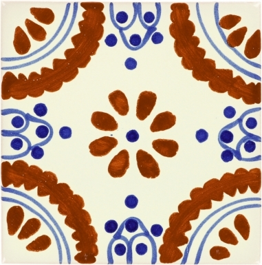 Madrid 2 Talavera Mexican Tile