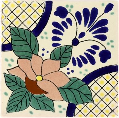 Lacandon Talavera Mexican Tile