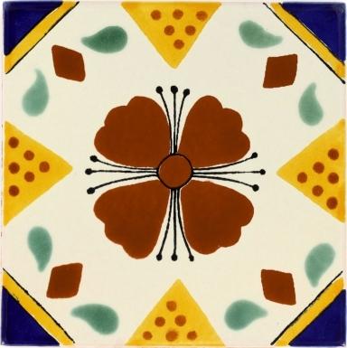Cuernavaca Talavera Mexican Tile