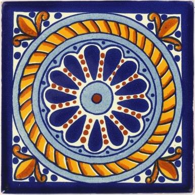 Columna Talavera Mexican Tile