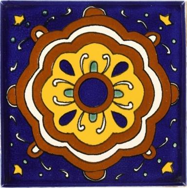 Reloj Talavera Mexican Tile