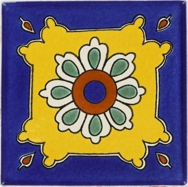 Santa Clara Talavera Mexican Tile
