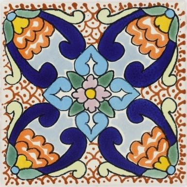 Samantha Talavera Mexican Tile