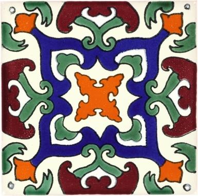 Laberinto Talavera Mexican Tile