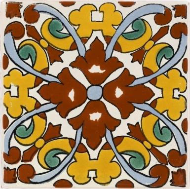 Charlotte 3 Talavera Mexican Tile