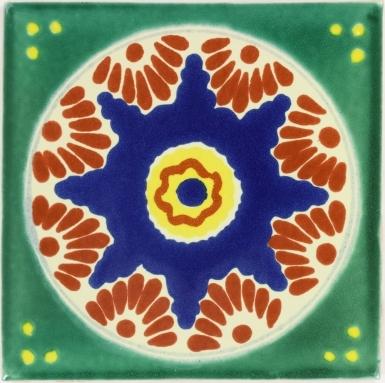 Ajalpan Talavera Mexican Tile