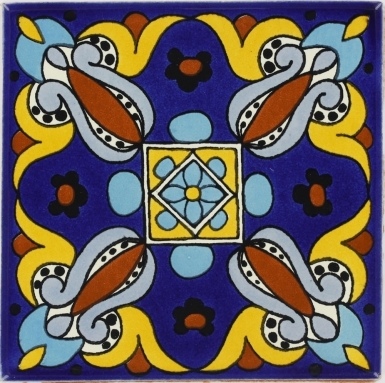 Arteaga 1 Talavera Mexican Tile