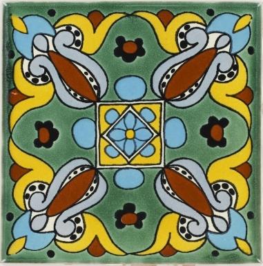 Arteaga 2 Talavera Mexican Tile