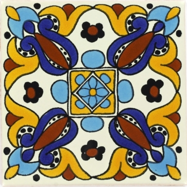 Arteaga 3 Talavera Mexican Tile