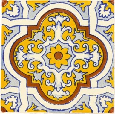 Villanueva Talavera Mexican Tile