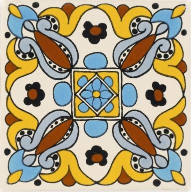 Arteaga 4 Talavera Mexican Tile