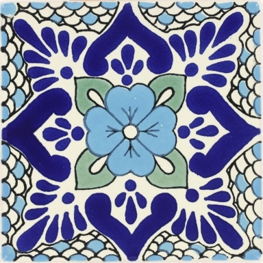 Polanco 3 Talavera Mexican Tile