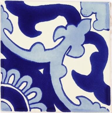 Blue Capri Talavera Mexican Tile