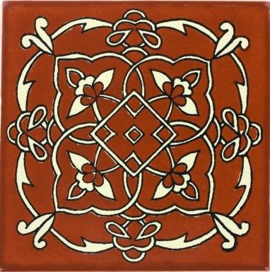 Terra Cotta Oriental Talavera Mexican Tile