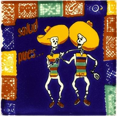 Compadres Talavera Mexican Tile