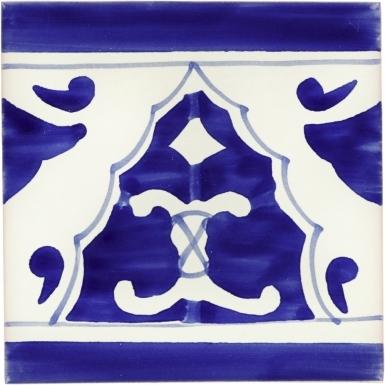 Sierra Azul 1 Talavera Mexican Tile