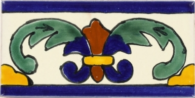 Murcielago Talavera Mexican Tile