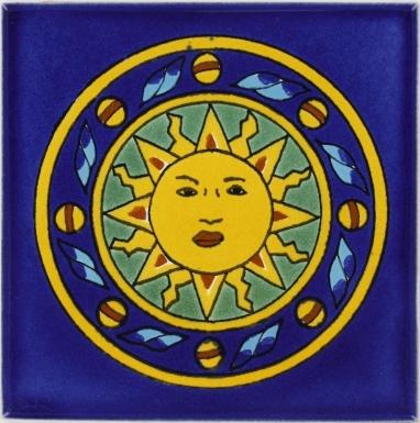Sun 2 Talavera Mexican Tile