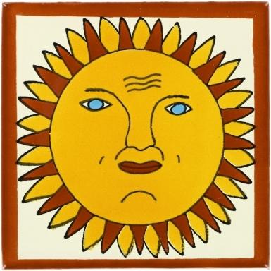 Sun Talavera Mexican Tile