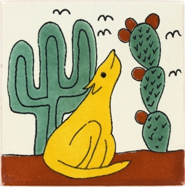Coyote Talavera Mexican Tile
