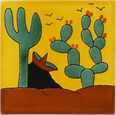 Ranchero 1 Talavera Mexican Tile