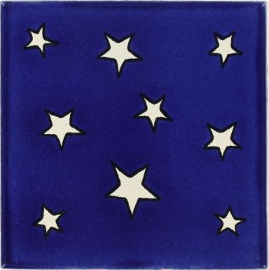Estrellas Talavera Mexican Tile