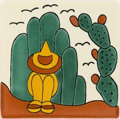 Ranchero 2 Talavera Mexican Tile