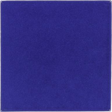 Midnight Blue Talavera Mexican Tile