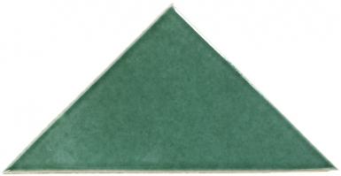Verde Hoja - Talavera Mexican Triangle Tile