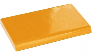 Surface Bullnose: Tangerine Yellow - Talavera Mexican Tile