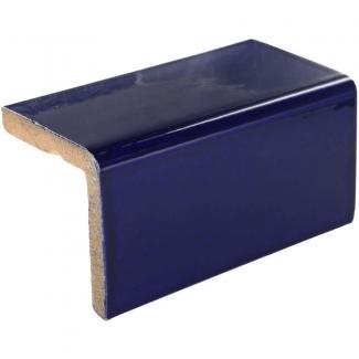 2x2x4 25 V Cap Cobalt Blue Talavera Mexican Tile